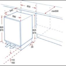 Хладилник за вграждане PKM KS117.4A + UB - Уреди с транспортен дефект Technoplanet