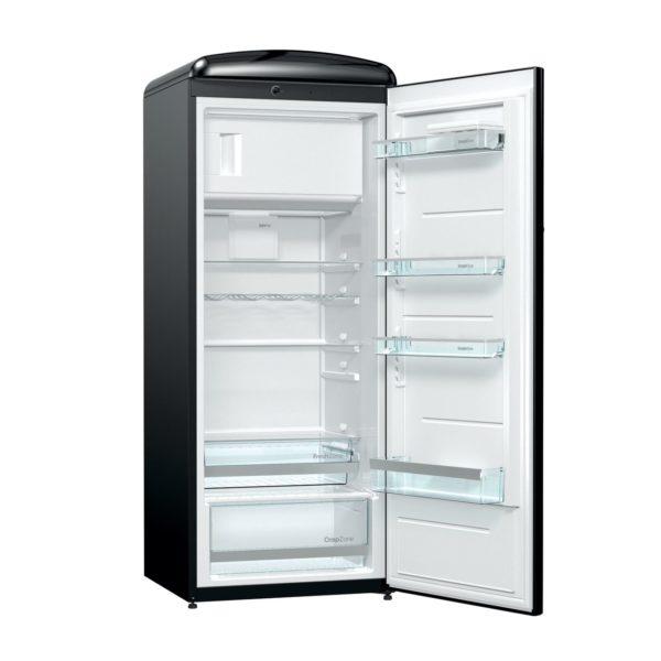Хладилник GORENJE ORB153BK, ретро