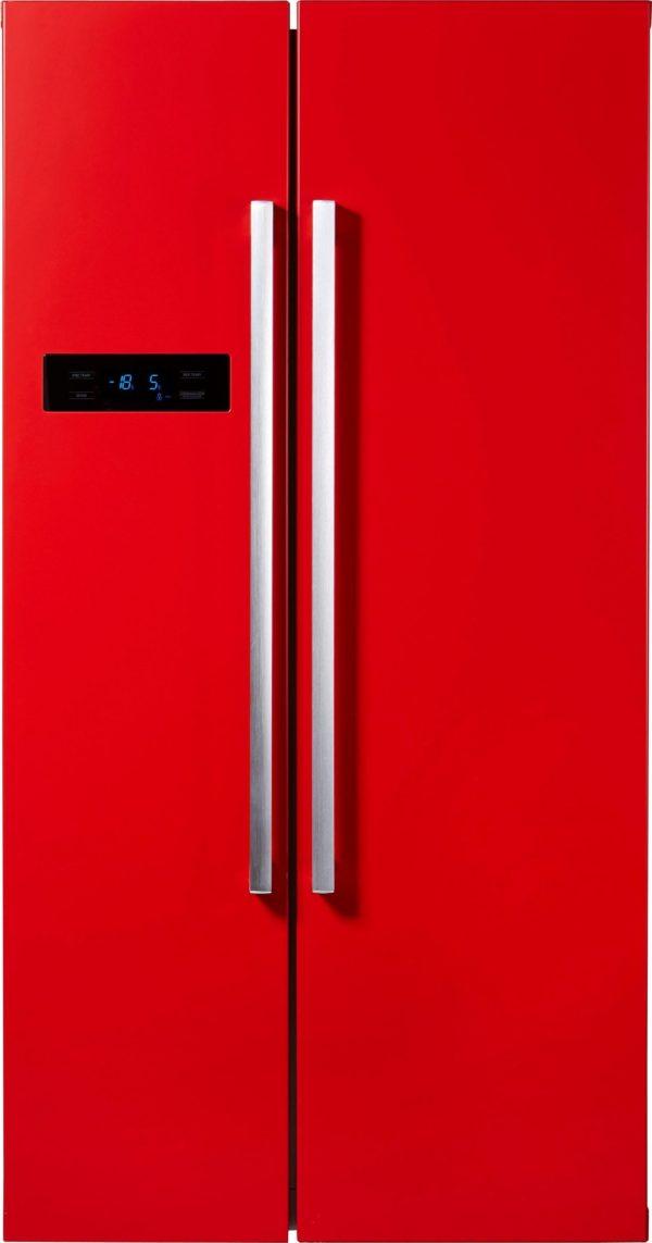 Хладилник Hanseatic  HSBS17990A3 side-by-side Rot