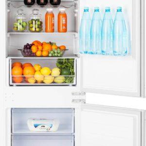 Хладилник за вграждане HANSEATIC HEKS 17754GA2W NO-FROST