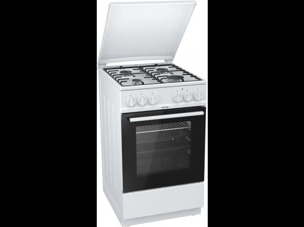Готварска печка с газови котлони Gorenje K5151WH