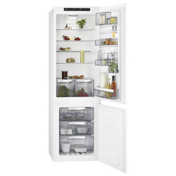 Хладилник за вграждане AEG SCE81824TS А++
