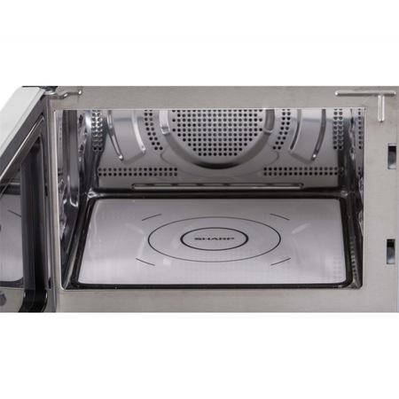 Микровълнова фурна с горещ въздух Sharp R860S, 900 W, 25 L