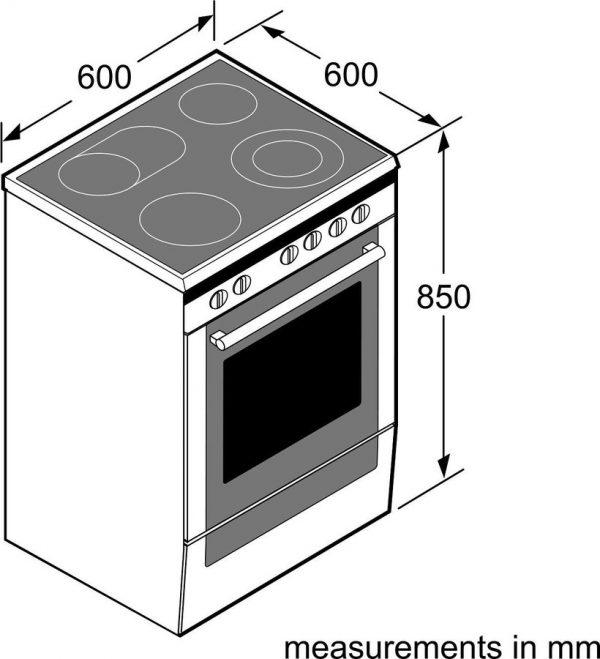 Готварска печка SIEMENS HK9R30250